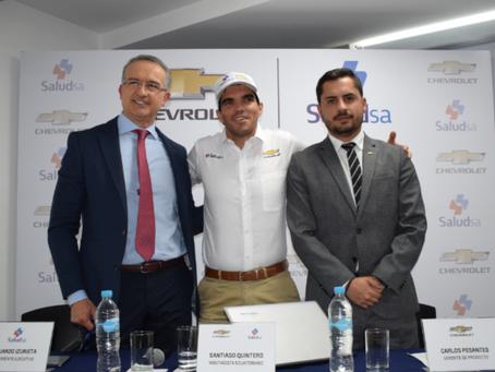 """General Motors: Santiago Quintero presenta su nuevo proyecto deportivo denominado """"6.000 en 24"""""""