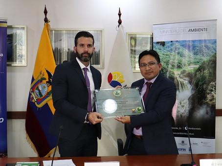 EERSA recibió reconocimiento Punto Verde por trabajo ambiental