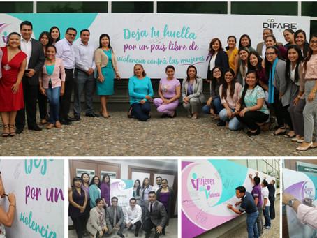 DIFARE se une a la campaña #MujeresSinViolenciaEC