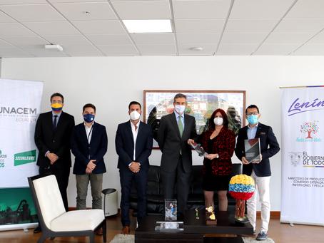 UNACEM apoya la puesta en marcha de la Economía Circular en el Ecuador
