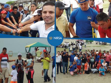 NIRSA participó en el Día Internacional de Limpieza de Playas 2017