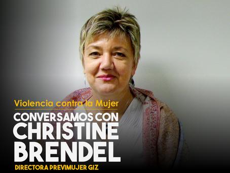 Conversamos con Christine Brendel, Directora PreViMujer GIZ
