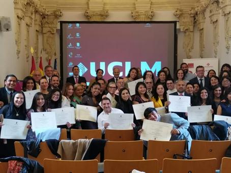 Cinco colaboradoras de nuestros miembros accedieron a Posgrado en España