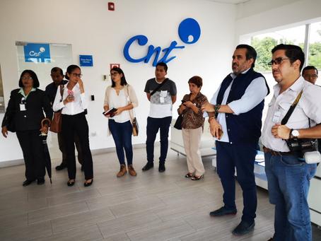Periodistas vivieron la experiencia tecnológica CNT
