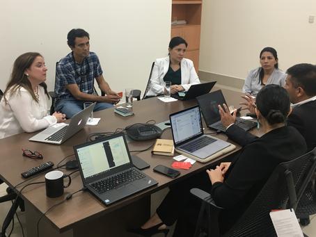 Se realizó Rueda de Proyectos CERES con miembros de Posorja