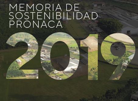 PRONACA presenta su Memoria de Sostenibilidad 2019