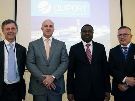 Delegación de alto nivel de la OACI visitó AEROPUERTO DE QUITO