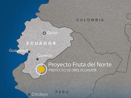 FRUTA DEL NORTE DE LUNDIN GOLD produjo 28.678 onzas de oro en 2019