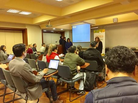 Talleres de Administración de Proyectos de Desarrollo Social fueron dictados en Quito y Cuenca