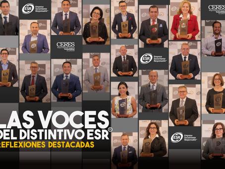 Las Voces del Distintivo ESR®: Los protagonistas nos dejaron algunas frases que ahora destacamos