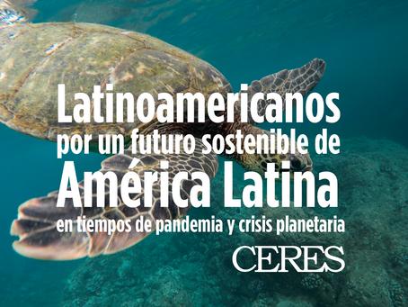 CERES firma la Declaración por un Futuro Sostenible de América Latina