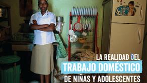 PLAN INTERNACIONAL presentó estudio sobre trabajo domestico de niñas y adolescentes.