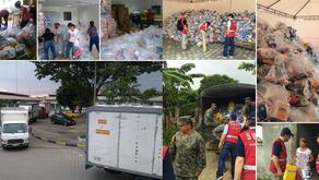 Fundación Huancavilca apoya a comunidades damnificadas por terremoto