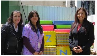 JW MARRIOTT Quito realizó donación a Guagua Centro