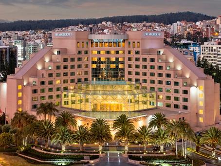 JW Marriott Quito fue reconocido en los World Travel Awards 2019 con 3 premios