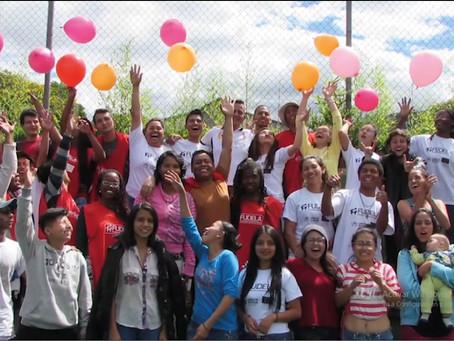 FUDELA cumple 16 años transformando vidas de población joven ecuatoriana y en movilidad humana.