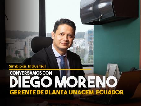 Conversamos con Diego Moreno, Gerente de Planta en UNACEM Ecuador