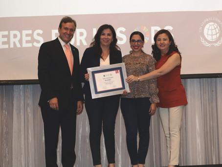 UNACEM ECUADOR fue reconocido por Pacto Global por su excelente gestión como líder del ODS 9