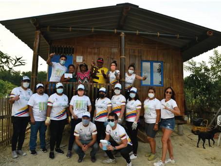 CAEMBA inicia su trabajo en un nuevo barrio en Atacames