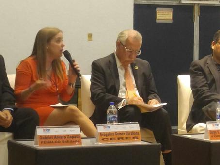 Evangelina Gómez-Durañona presentó ponencia en México