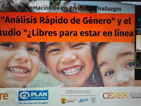 Situación actual de las niñas en el Ecuador fue abordado en interesante conversatorio