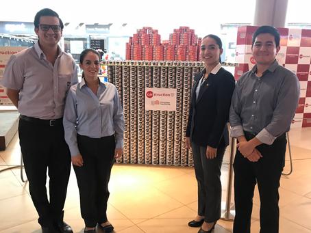 NIRSA dona más de 2000 latas de productos Real al Banco de Alimentos Diakonía
