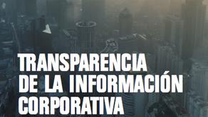 Se publica Índice de Transparencia de la Información Corporativa 2016