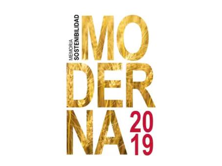 MODERNA ALIMENTOS presenta su Memoria de Sostenibilidad 2019