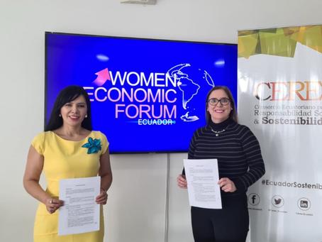 CERES y WEF Ecuador firmaron importante alianza