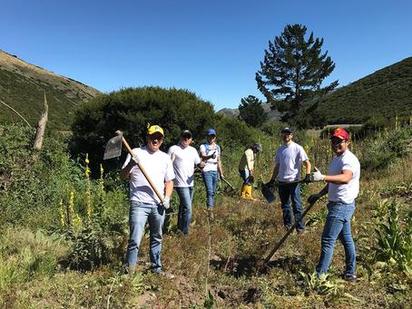 Voluntarios de GM ECUADOR incentivan la conservación ambiental en Calacalí