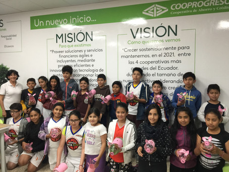Colonias Vacacionales COOPROGRESO, un espacio para los niños de la comunidad