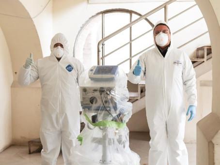 GM OBB DEL ECUADOR suma esfuerzos para salvar vidas con el mantenimiento y reparación de respiradore