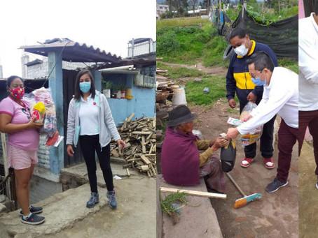 PRONACA trabajó con el banco de alimentos Quito