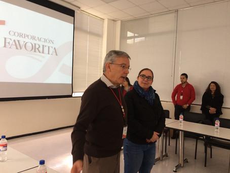 Miembros de CERES visitaron instalaciones de Corporación Favorita