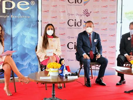 GRUPO CORPORATIVO CID brinda apoyo en la solución de problemáticas sociales del país