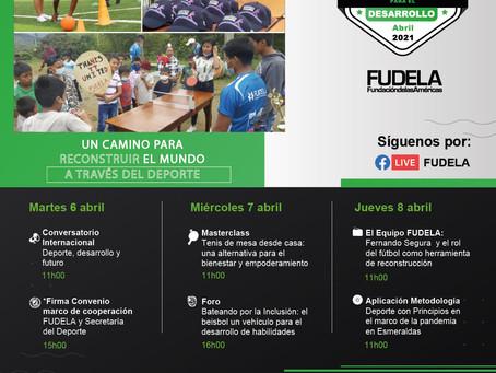 FUDELA: Una celebración diferente por el Día Internacional de Deporte para el Desarrollo