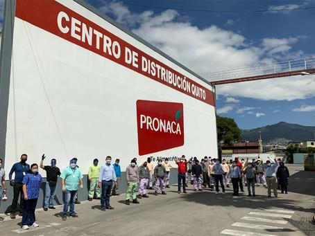 PRONACA: Presidente Ejecutivo visita centros de operación