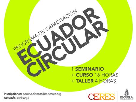 PROGRAMA DE CAPACITACIÓN: ECUADOR CIRCULAR