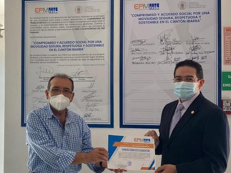 UNACEM Ecuador reconocida por buenas prácticas de RSE