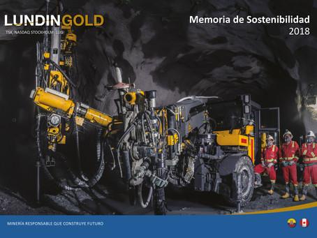 LUNDIN GOLD publica su Memoria de Sostenibilidad
