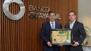 Banco Guayaquil es declarada como empresa Carbono Neutro