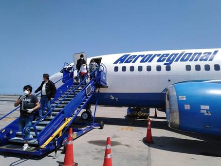 LUNDIN GOLD gestionó tres vuelos humanitarios que permitieron la repatriación de 258 personas