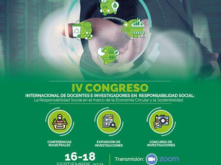 UTPL promueve el IV congreso internacional de Docentes e Investigadores en Responsabilidad Social