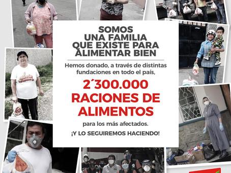 PRONACA: donaciones, solidaridad y compromiso con el país