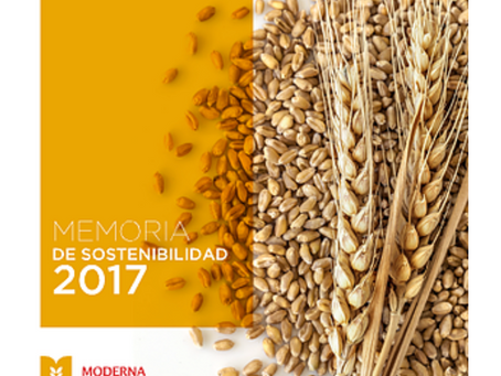 Moderna Alimentos presentó su Memoria de Sostenibilidad 2017