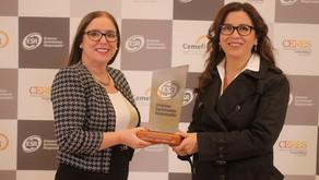 UNACEM Ecuador recibió el Distintivo ESR® por sus buenas prácticas de responsabilidad social