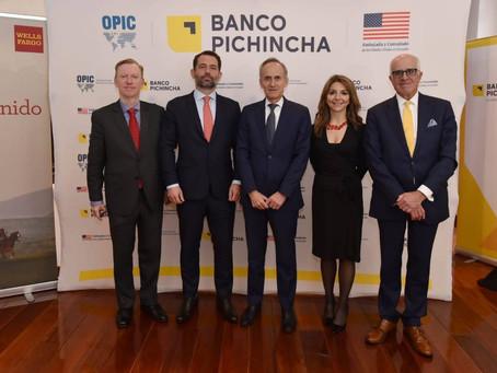 BANCO PICHINCHA participó en un acuerdo que permitirá ampliar préstamos a mujeres empresarias en Ecu