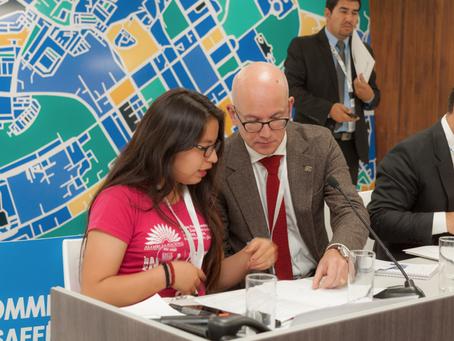 Autoridades se comprometen con la petición global de PLAN INTERNACIONAL para que las ciudades sean s