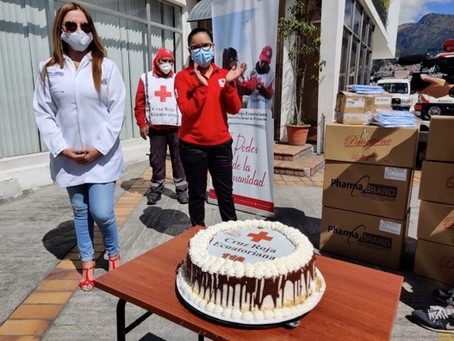 GRUPO CORPORATIVO CID: la empresa privada e instituciones civiles rindieron homenaje a la Cruz Roja