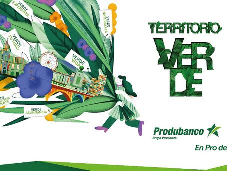"""PRODUBANCO presenta su nueva campaña de comunicación """"Territorio Verde"""""""